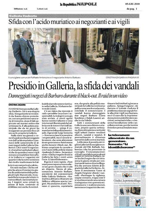 La Repubblica - Galleria