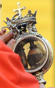 Archbishop of Naples Cardinal Crescenzio